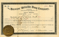 Brewers Metallic Bung Company - SOLD