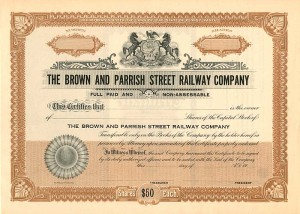Brown and Parrish Street Railway Company