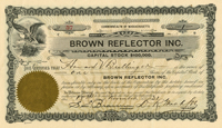 Brown Reflector Inc.