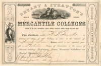 Bryant & Stratton's Mercantile Colleges - SOLD
