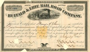 Buffalo & Erie Railroad Company