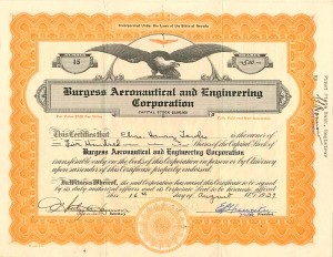 Burgess Aeronautical and Engineering Corporation