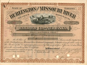 Burlington and Missouri River Railroad Co. in Nebraska