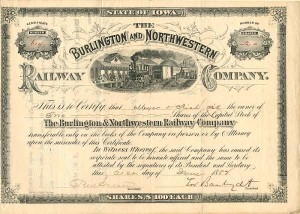 Burlington and Northwestern Railway Company