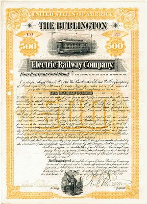 Burlington Electric Railway - SOLD