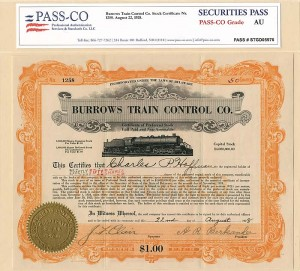 Burrows Train Control Co.