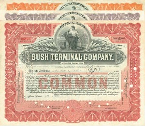 Bush Terminal Company Stock Set