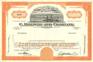 C. Brewer and Company