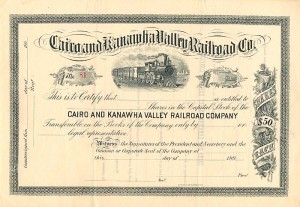 Cairo and Kanawha Valley Railroad Company - SOLD