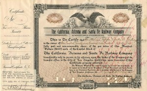 California, Arizona and Santa Fe Railway Company