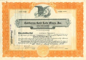 California Gold Lode Mines, Inc.