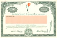 California Women's Savings and Loan Association