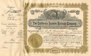 California Eastern Railway Company