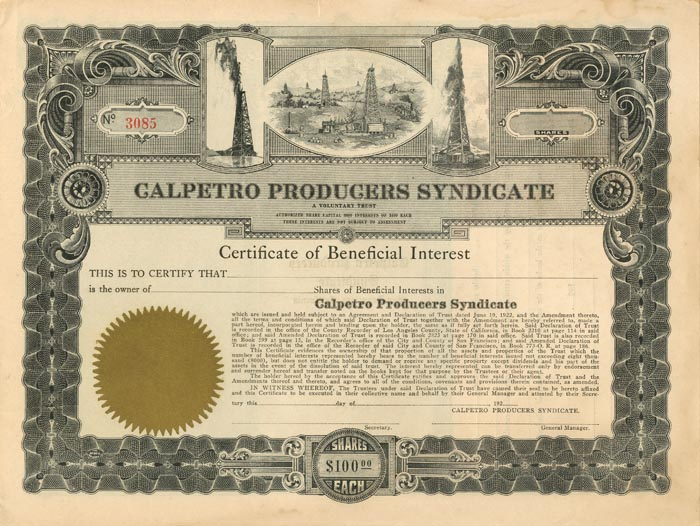 Calpetro Producers Syndicate