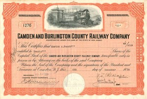 Camden and Burlington County Railway Company