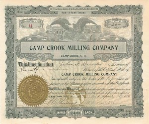 Camp Crook Milling Company