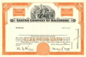 Canton Company of Baltimore - SOLD
