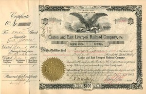 Canton and East Liverpool Railroad Company, (Pa.)