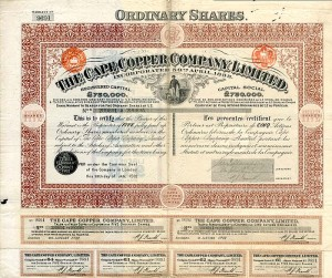 Cape Copper Company, Limited