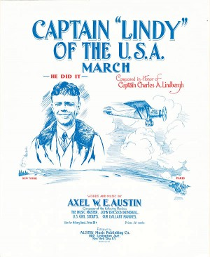 "Captain ""Lindy"" of the USA March - SOLD"
