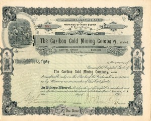 Caribou Gold Mining Company, Limited