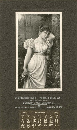 Carmichael, Perner & Co. Advertising Calendar