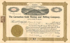 Carnation Gold Mining and Milling Company