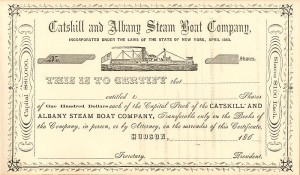 Catskill and Albany Steam Boat Company