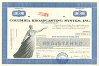 Columbia Broadcasting System, Inc. - Bond