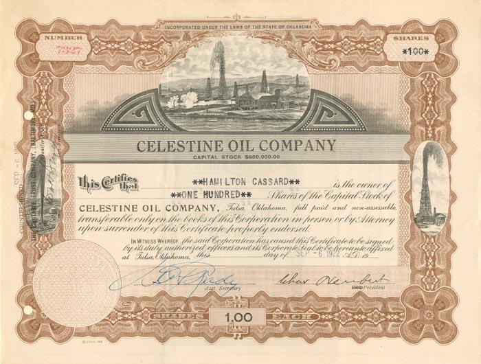 Celestine Oil Company - SOLD