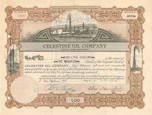 Celestine Oil Company - SOLD