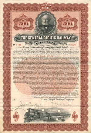Central Pacific Railway Company - SOLD