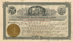 Century Silver Mining Co. Limited