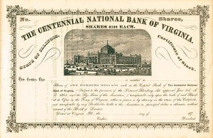 Centennial National Bank of Virginia