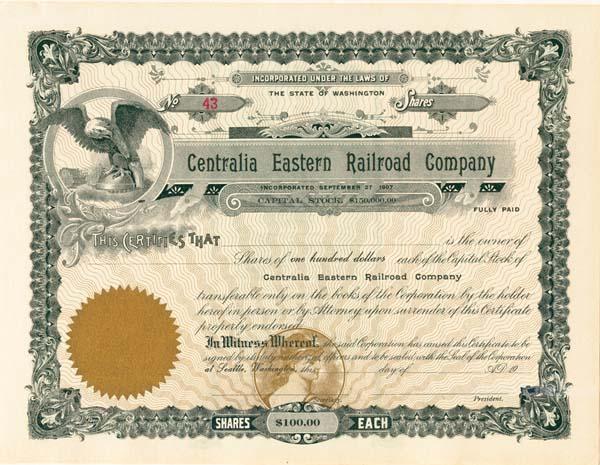 Centralia Eastern Railroad