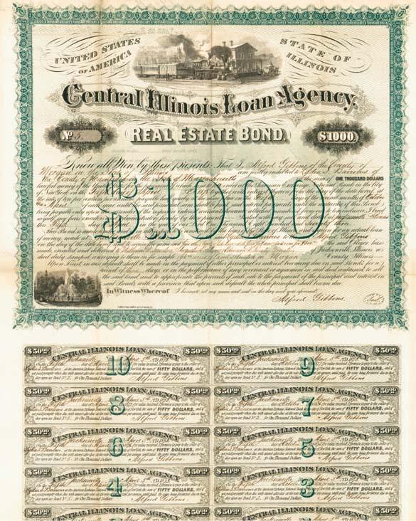Central Illinois Loan Agency (Uncanceled)