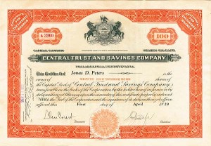 Central Trust & Savings Company