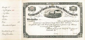 Centreville & Corsica River Steamboat Co - SOLD