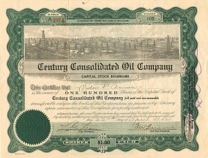 Century Consolidated Oil Company