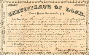 Certificate of Loan