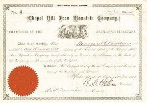 Chapel Hill Iron Mountain Company - SOLD