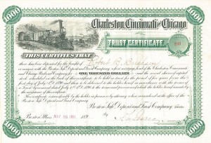 Charleston, Cincinnati & Chicago Railroad