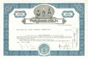 Charles Jacquin Et Cie, Inc. - SOLD