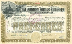 Chattanooga, Rome and Southern Railroad Company