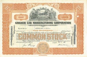 Checker Cab Manufacturing Corporation