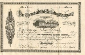 Chemical Oil Refining Company - SOLD