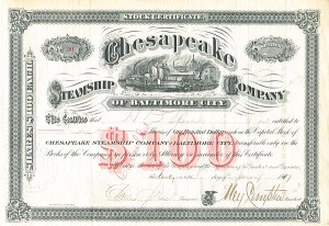 Chesapeake Steamship Company of Baltimore City