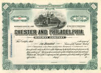Chester and Philadelphia Railway Company