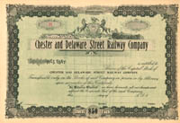Chester and Delaware Street Railway Company
