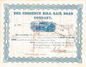 Chestnut Hill Rail Road Company